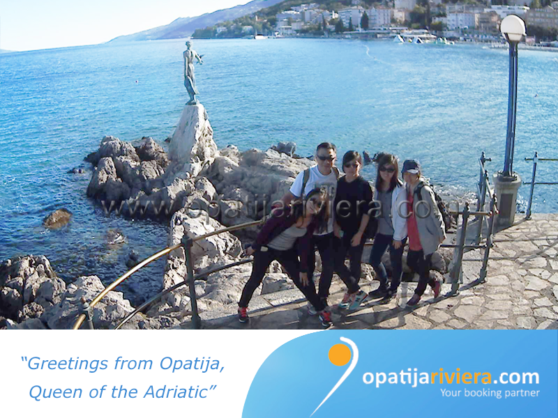 GREETINGS FROM OPATIJA